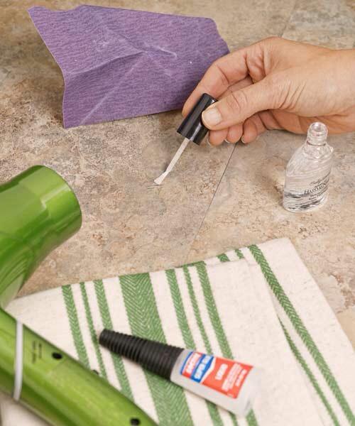 Linoleum repair