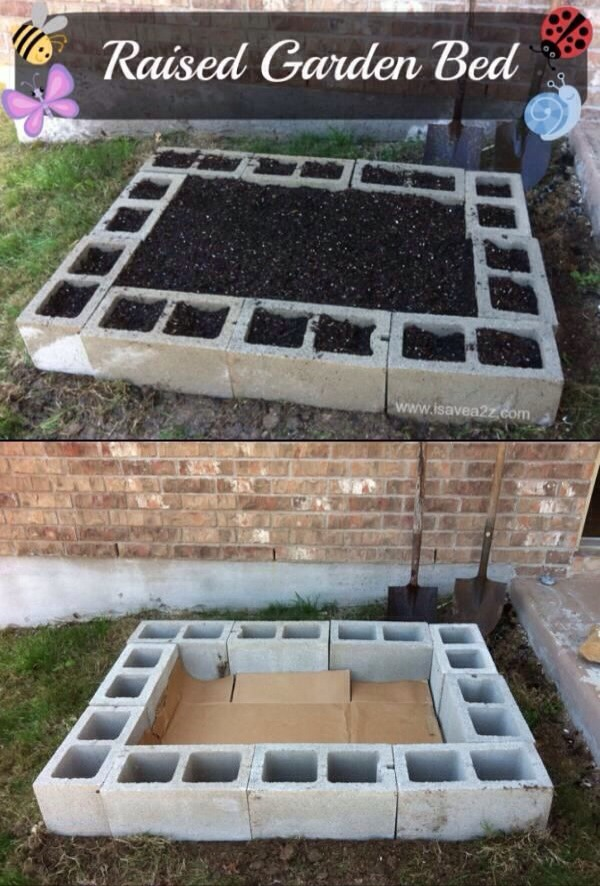 Easy Diy Raised Garden Bed Trusper