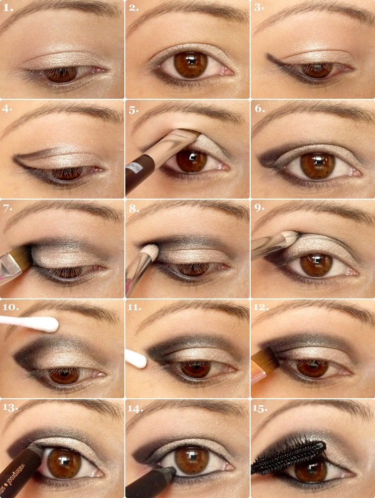 How To Apply Eyeshadow Correctly