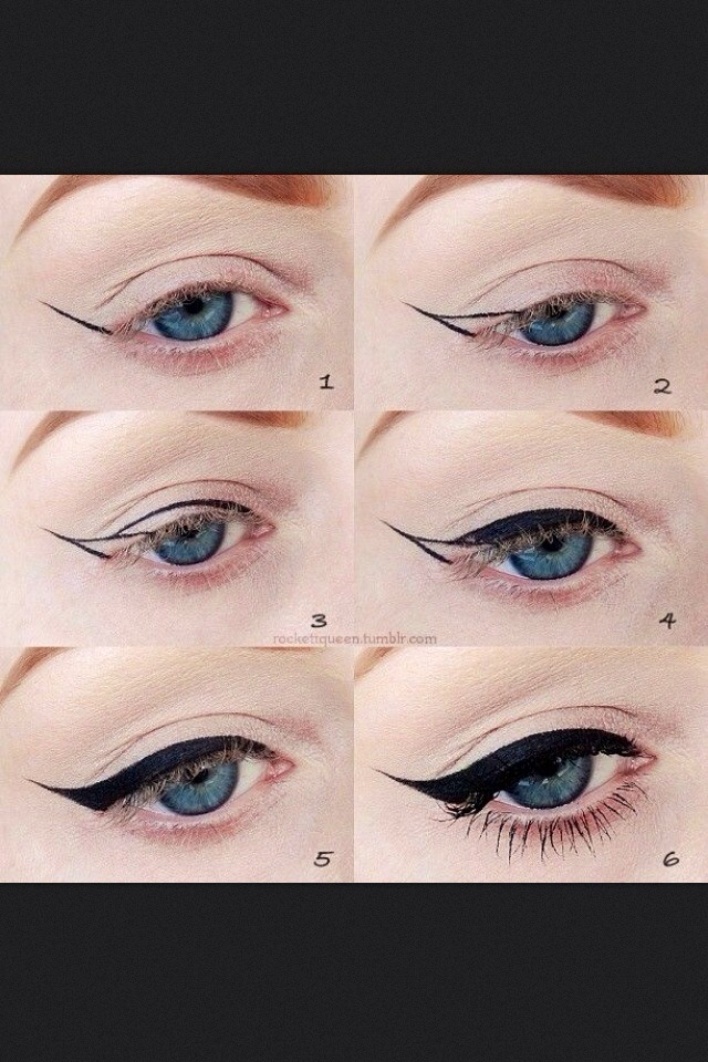 Winged Eyeliner (fast && Easy Steps)