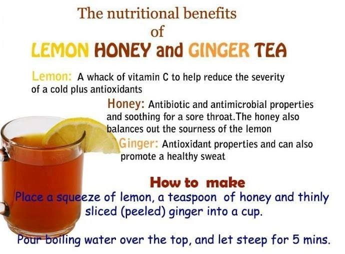 Nutritional Benefits Of Lemon Honey & Ginger Tea | Trusper