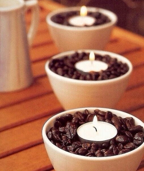 ☕️coffee Bean And Tea Lights☕️