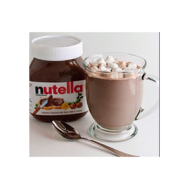 ☕️ Nutella Hot Chocolate Recipe ✨