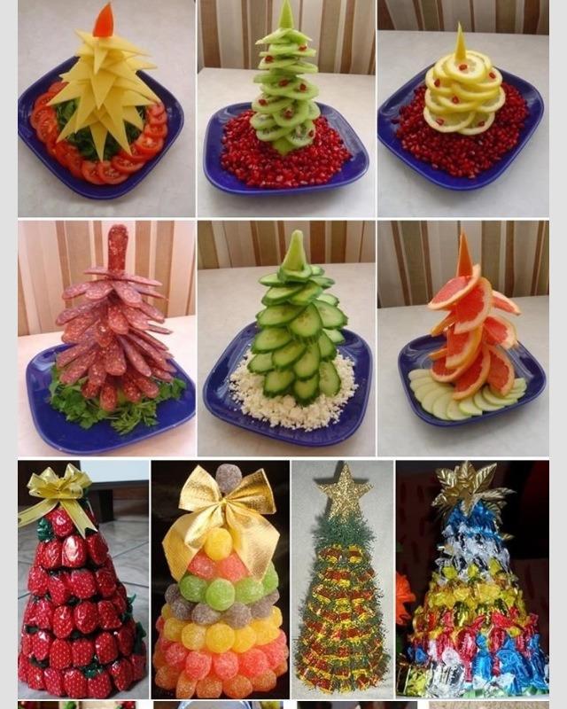 Edible Christmas Trees As Centerpieces Trusper