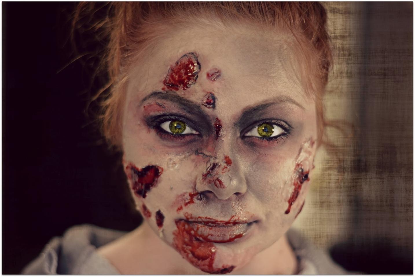 Zombie Makeup Ideas   Trusper