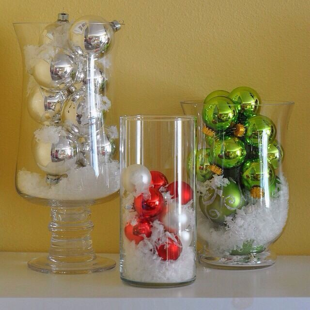 Decorating Ideas > DIY Dollar Store Christmas Decor  Trusper ~ 174956_Christmas Vase Decoration Ideas
