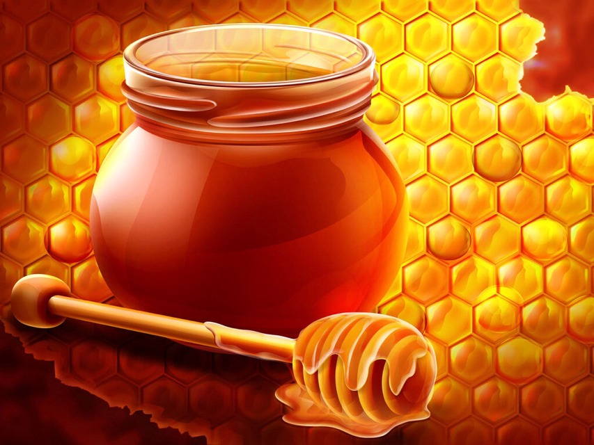 Honey As A Medicine.