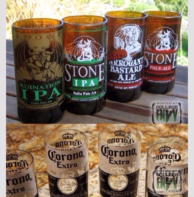 Turn Your Beer Bottles Into Glass Cups!