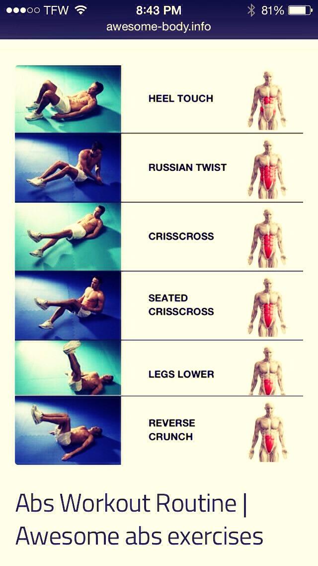 Best lower ab exercises trusper