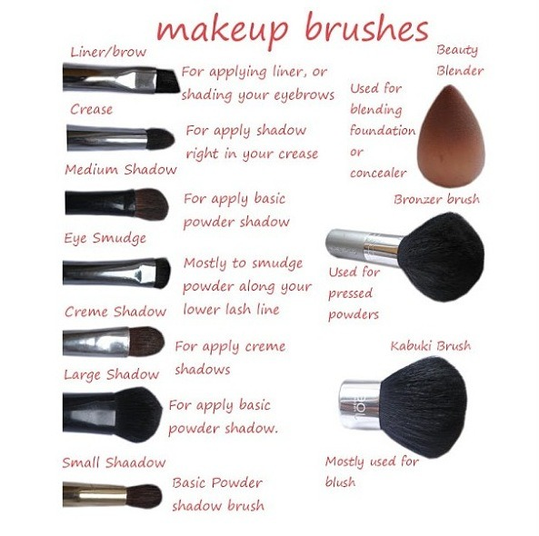 Face Makeup Brush Guide Face Makeup Brush Guide Makeup