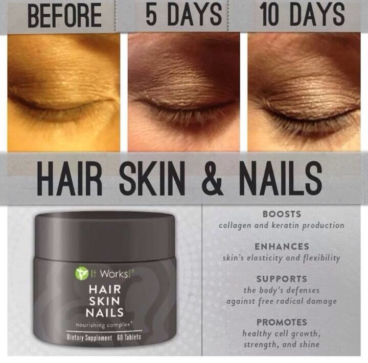 It Works! Hair, Skin And Nails Produces Awesome Results!! | Trusper