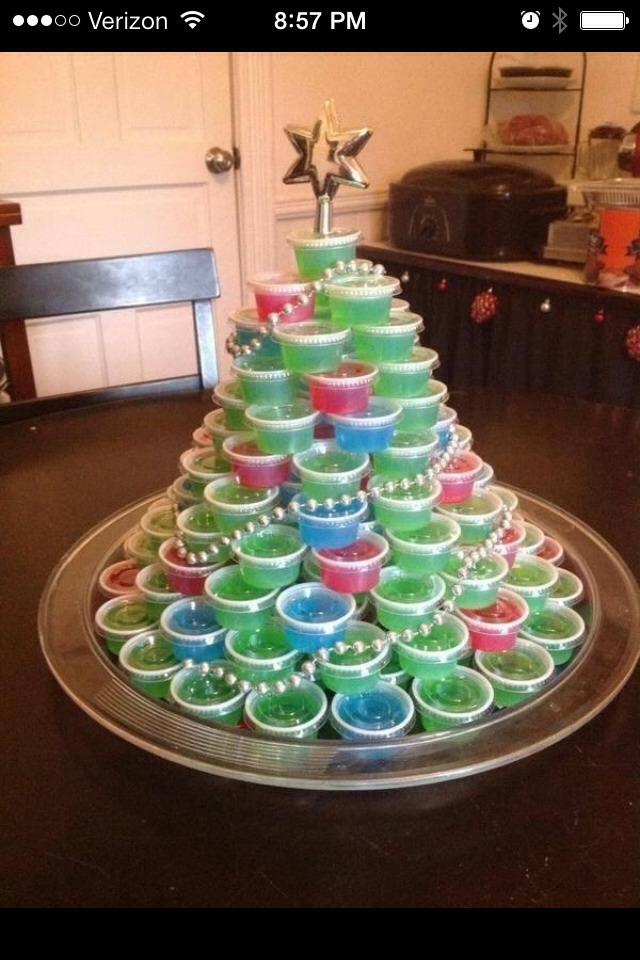 Human christmas tree decorating game butik work