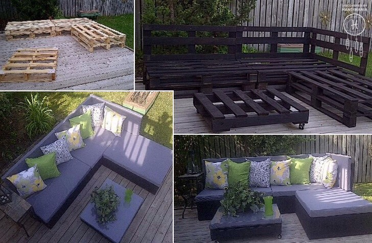 ✳️Some Different Indoor And Outdoor Sofas Made From Shipping Pallets✳️