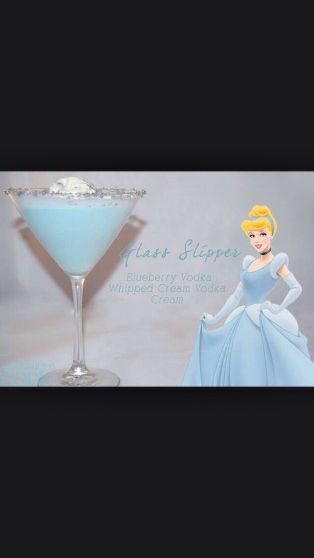 Disney Inspired Cocktail Drinks.
