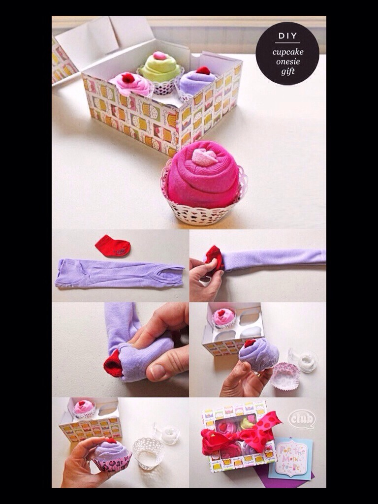Baby Gift Ideas From Grandma : Cupcake onesie gift trusper