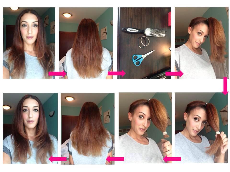 Как сделать длинные волосы дома