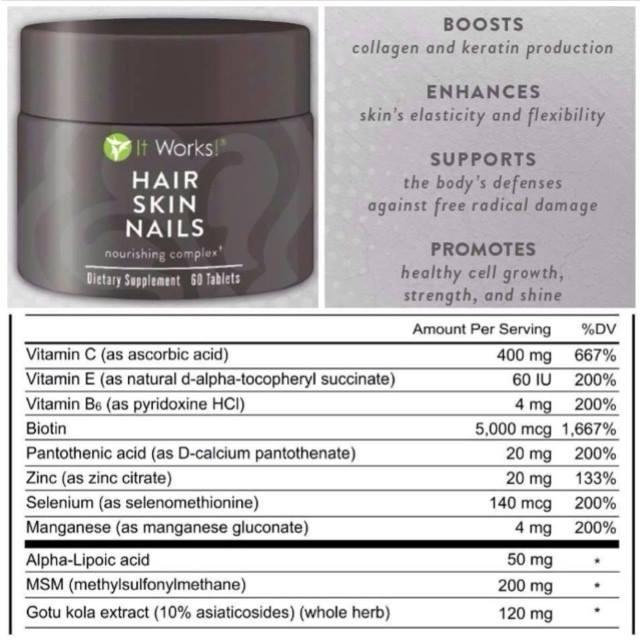 It Works Hair Skin Nails | Trusper