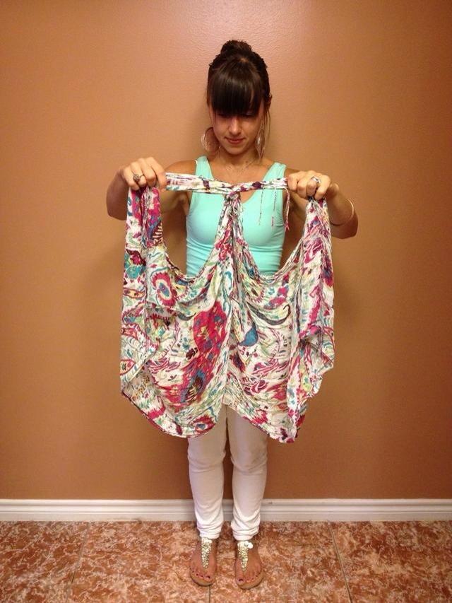 Arm Knitting Vest : Diy arm knitting min scarf trusper