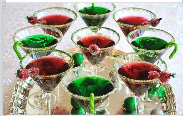 Jello Shot Christmas Tree Or Make Without Alcohol For The