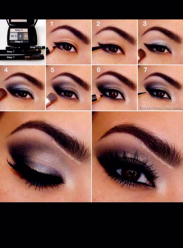 Step By Step On How To Do Smokey Eye