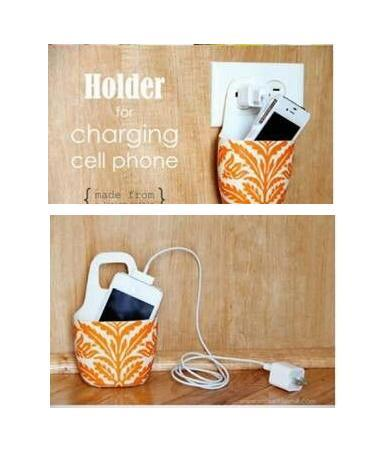 how to make a cell phone holder out of paper