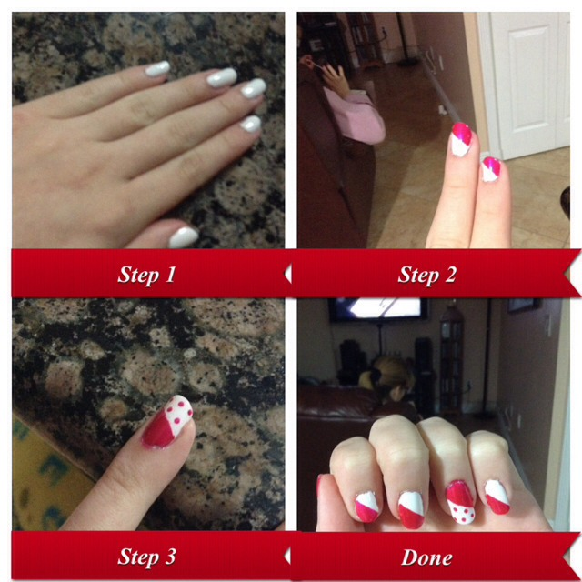 use tape to make designs for a professional look trusper