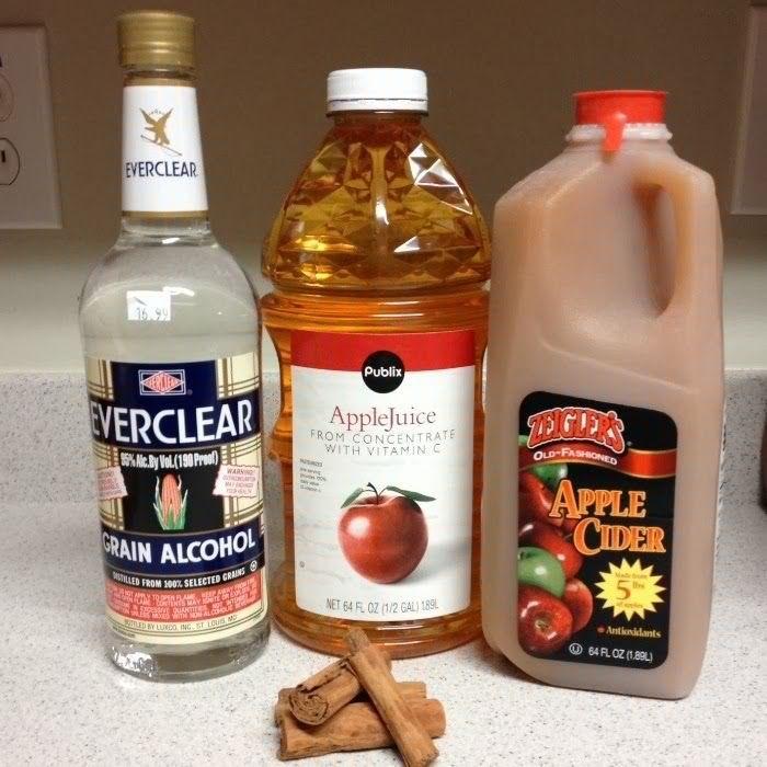 Caramel Apple Pie Drink Everclear