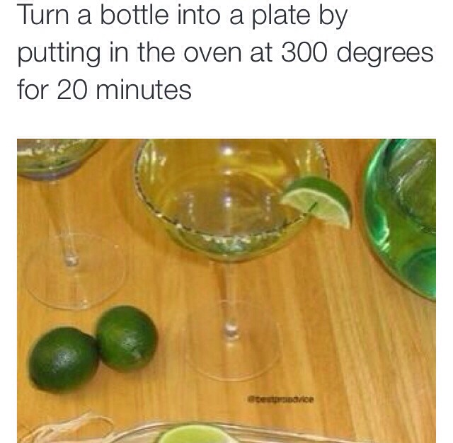 Turn A Bottle Into A Plate