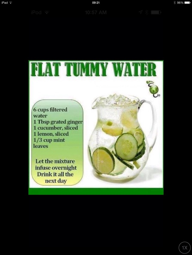 Flat Tummy Detox Water🔆
